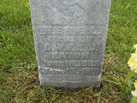 EATON, BESSIE L. - Appanoose County, Iowa | BESSIE L. EATON