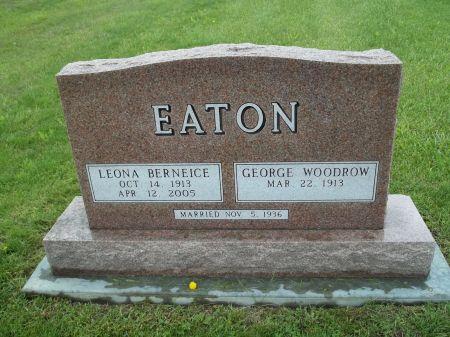 EATON, LEONA BERNEICE - Appanoose County, Iowa | LEONA BERNEICE EATON