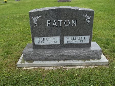 EATON, SARAH C. - Appanoose County, Iowa   SARAH C. EATON