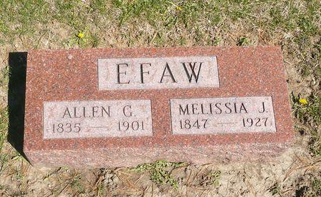 EFAW, MELISSIA J. - Appanoose County, Iowa | MELISSIA J. EFAW