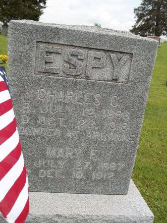 ESPY, CHARLES C. - Appanoose County, Iowa | CHARLES C. ESPY
