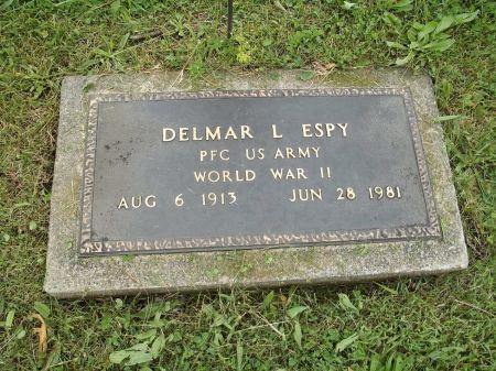 ESPY, DELMAR L. - Appanoose County, Iowa | DELMAR L. ESPY