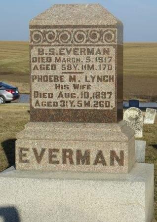 EVERMAN, PHOEBE M. - Appanoose County, Iowa | PHOEBE M. EVERMAN