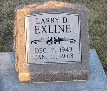 EXLINE, LARRY D. - Appanoose County, Iowa   LARRY D. EXLINE
