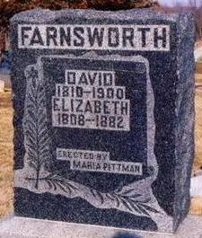 FARNSWORTH, DAVID - Appanoose County, Iowa | DAVID FARNSWORTH