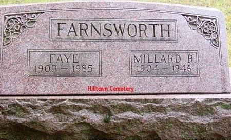 FARNSWORTH, FAYE & MILLARD R. - Appanoose County, Iowa | FAYE & MILLARD R. FARNSWORTH