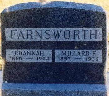 FARNSWORTH, ROANNAH - Appanoose County, Iowa | ROANNAH FARNSWORTH