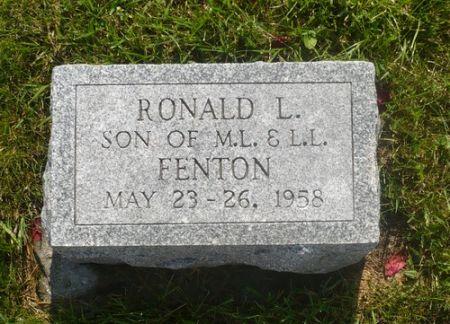 FENTON, RONALD L. - Appanoose County, Iowa | RONALD L. FENTON