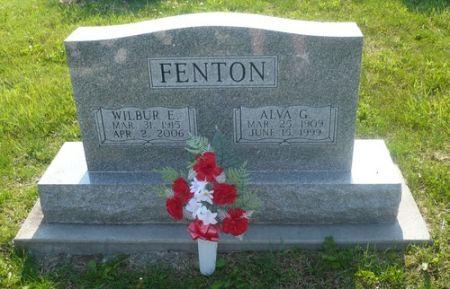FENTON, WILBUR E. - Appanoose County, Iowa   WILBUR E. FENTON