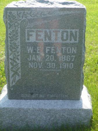 FENTON, W. E. - Appanoose County, Iowa | W. E. FENTON