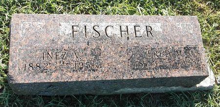 FISCHER, INEZ V. - Appanoose County, Iowa   INEZ V. FISCHER
