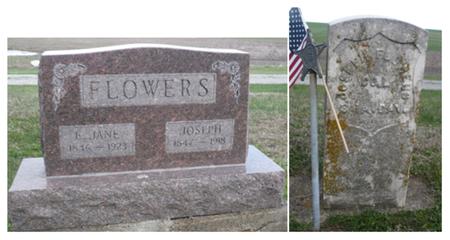 FLOWERS, E. JANE - Appanoose County, Iowa | E. JANE FLOWERS