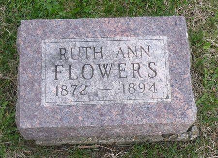 FLOWERS, RUTH ANN - Appanoose County, Iowa | RUTH ANN FLOWERS
