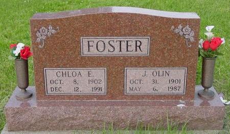 BOYER FOSTER, CHLOA E. - Appanoose County, Iowa | CHLOA E. BOYER FOSTER