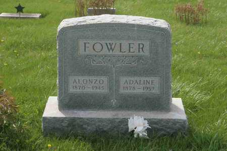 FOWLER, ADELINE - Appanoose County, Iowa | ADELINE FOWLER