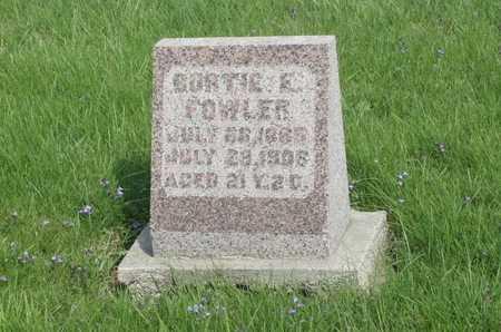 FOWLER, BERTIE - Appanoose County, Iowa | BERTIE FOWLER