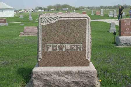 FOWLER, FAMILY - Appanoose County, Iowa | FAMILY FOWLER