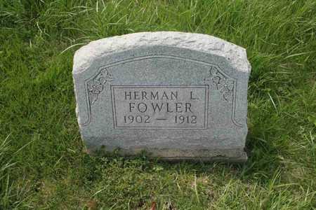 FOWLER, HERMAN L. - Appanoose County, Iowa | HERMAN L. FOWLER