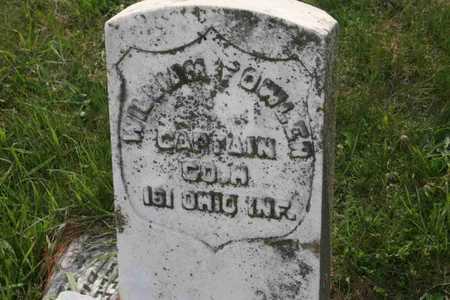 FOWLER, WILLIAM CAPT. - Appanoose County, Iowa | WILLIAM CAPT. FOWLER