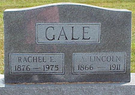 GALE, RACHEL ETTA - Appanoose County, Iowa | RACHEL ETTA GALE