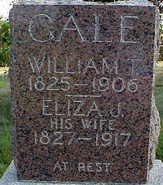 JACKSON GALE, ELIZA J - Appanoose County, Iowa | ELIZA J JACKSON GALE