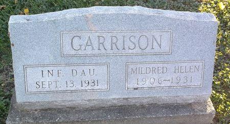 GARRISON, MILDRED HELEN - Appanoose County, Iowa   MILDRED HELEN GARRISON