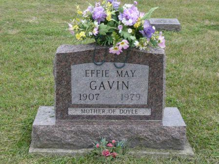 CURTIS GAVIN, EFFIE MAY - Appanoose County, Iowa | EFFIE MAY CURTIS GAVIN