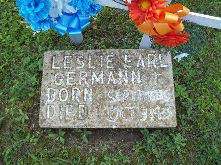 GERMANN, LESLIE EARL - Appanoose County, Iowa | LESLIE EARL GERMANN