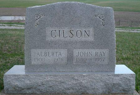 GILSON, JOHN RAY - Appanoose County, Iowa   JOHN RAY GILSON