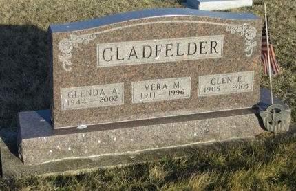 GLADFELDER, VERA M. - Appanoose County, Iowa | VERA M. GLADFELDER