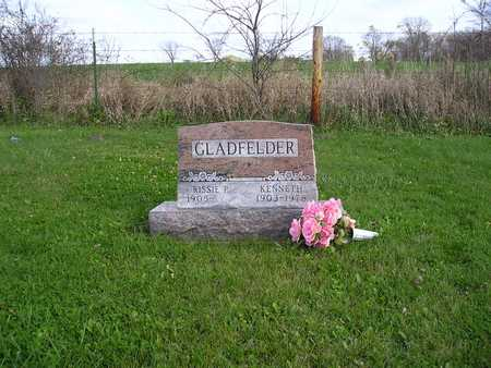 GLADFELDER, KENNETH - Appanoose County, Iowa | KENNETH GLADFELDER
