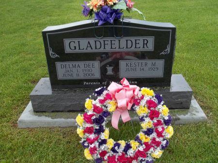 GLADFELDER, KESTER M. - Appanoose County, Iowa | KESTER M. GLADFELDER