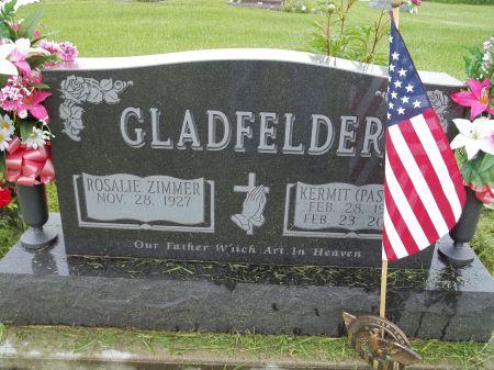 ZIMMER GLADFELDER, ROSALIE - Appanoose County, Iowa | ROSALIE ZIMMER GLADFELDER