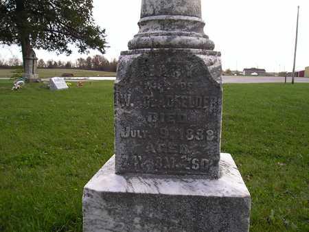 CLINE GLADFELDER, MARY - Appanoose County, Iowa | MARY CLINE GLADFELDER
