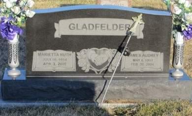 STEVENS GLADFELDER, MARIETTA RUTH - Appanoose County, Iowa | MARIETTA RUTH STEVENS GLADFELDER
