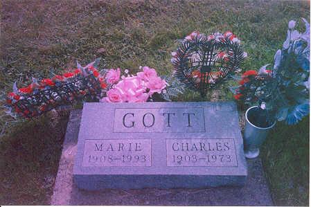 GOTT, CHARLES & MARIE - Appanoose County, Iowa   CHARLES & MARIE GOTT