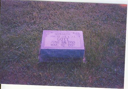GOTT, KENNETH RAYMOND - Appanoose County, Iowa | KENNETH RAYMOND GOTT