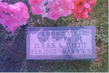 GOTT, RHONDA LEE - Appanoose County, Iowa   RHONDA LEE GOTT
