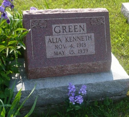 GREEN, ALIA KENNETH - Appanoose County, Iowa | ALIA KENNETH GREEN