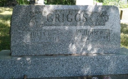 GRIGGS, JULIA B. - Appanoose County, Iowa | JULIA B. GRIGGS