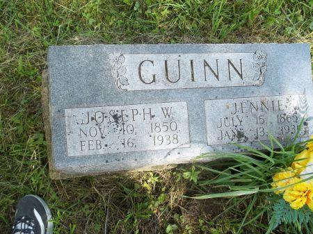 GUINN, JOSEPH W. - Appanoose County, Iowa   JOSEPH W. GUINN
