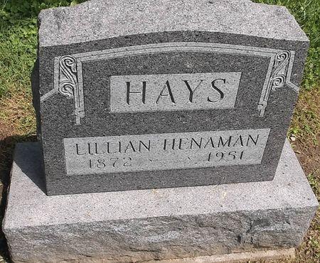 HAYS, LILLIAN - Appanoose County, Iowa   LILLIAN HAYS