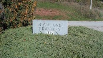 HIGHLAND, CEMETERY - Appanoose County, Iowa | CEMETERY HIGHLAND