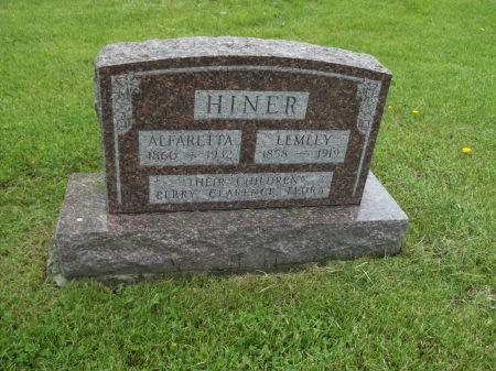 HINER, LEMLEY - Appanoose County, Iowa | LEMLEY HINER