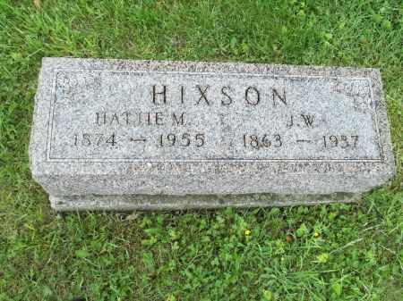 HIXSON, J.W. - Appanoose County, Iowa | J.W. HIXSON