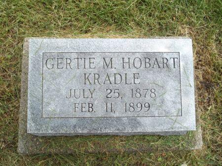HOBART, GERTIE M. - Appanoose County, Iowa | GERTIE M. HOBART