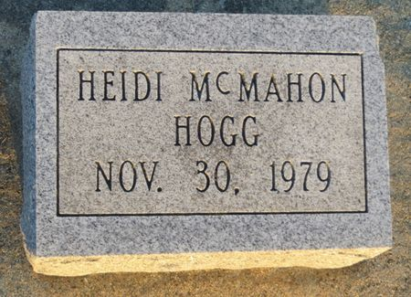 HOGG, HEIDI MCMAHON - Appanoose County, Iowa   HEIDI MCMAHON HOGG