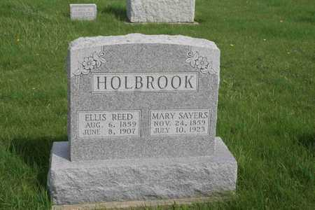 SAYRES HOLBROOK, MARY - Appanoose County, Iowa | MARY SAYRES HOLBROOK
