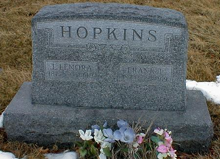 PROSE HOPKINS, LENORA - Appanoose County, Iowa | LENORA PROSE HOPKINS
