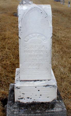 HOPKINS, MARY - Appanoose County, Iowa | MARY HOPKINS
